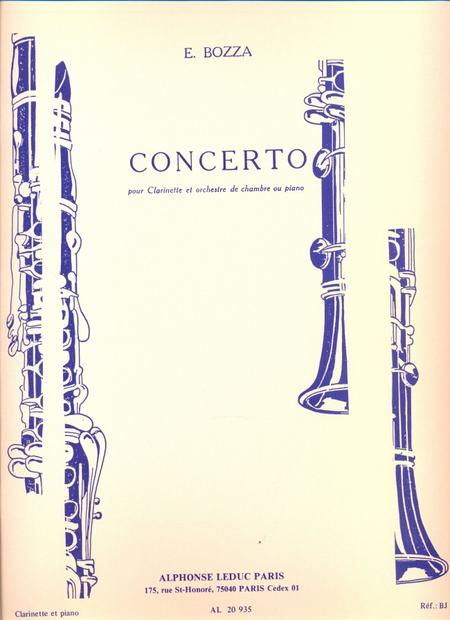 Concerto - Clarinette et Piano