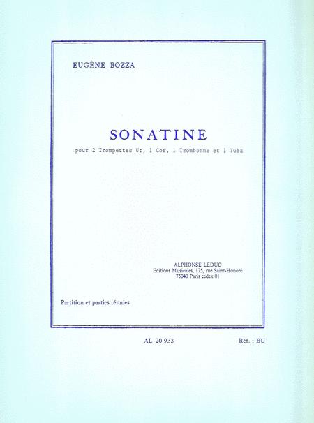 Sonatine - 2 Trompettes Ut/Cor/Trombone/Tuba