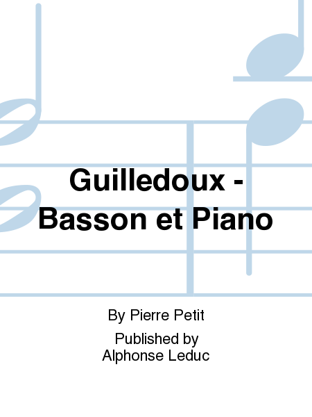 Guilledoux - Basson et Piano