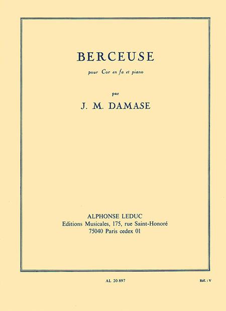 Berceuse - Cor En Fa Et Piano