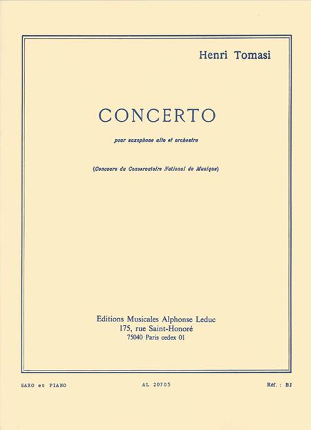 Concerto (Saxophone Orchestre) - Saxophone et Piano
