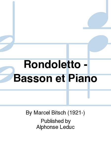 Rondoletto - Basson et Piano