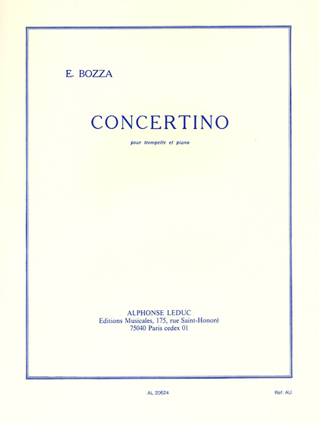 Concertino - Trompette Ut et Piano