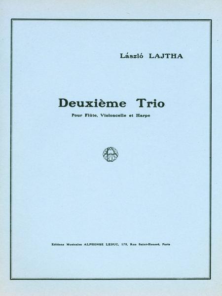 Trio No.2 Op47 - Flute Violoncelle et Harpe