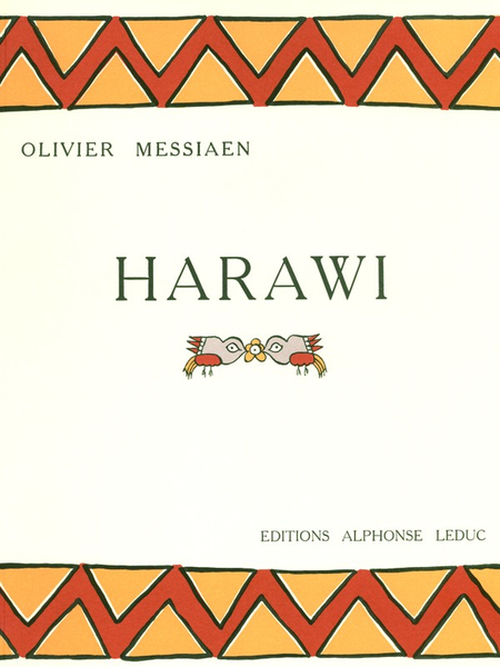 Harawi - Chant et Piano