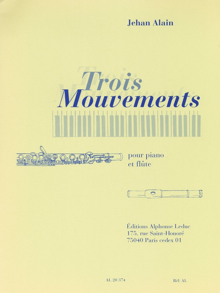 3 Mouvements - Flute Et Piano