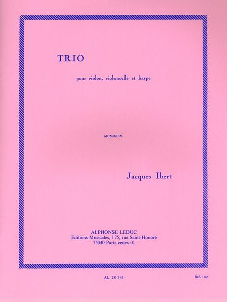 Trio - Violon/Violoncelle/Harpe