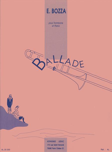 Ballade - Trombone Tenor et Piano