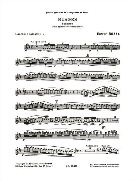 Nuages - Quatuor de Saxophones