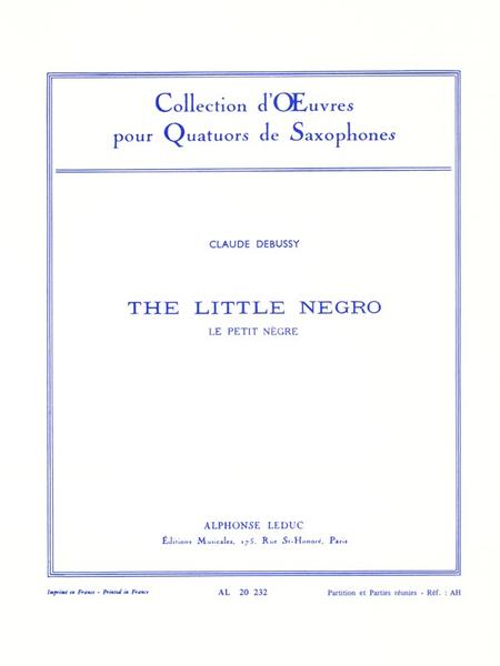 Petit Negre - 4 Saxophones