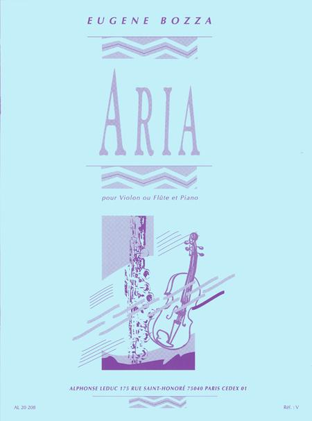 Aria - Violon ou Flute et Piano
