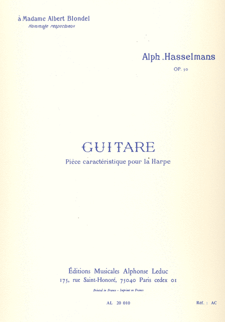Guitare Op50 - Harpe
