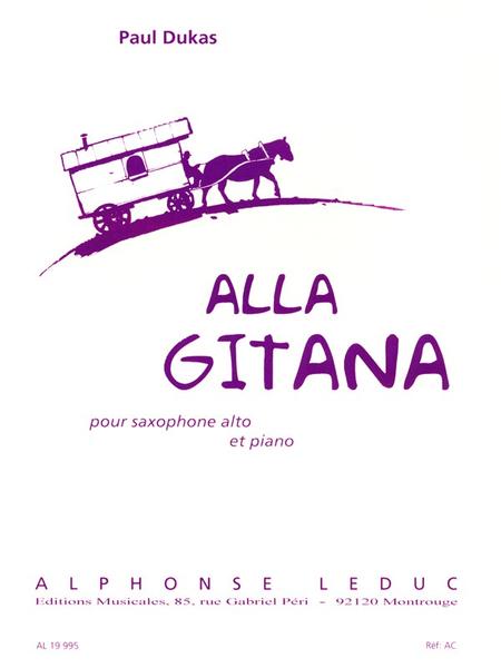Alla Gitana - Saxophone Mib et Piano