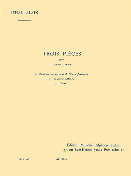 3 Pieces - Orgue