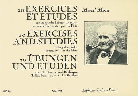 20 Exercices Et Etudes Sur Les Grandes Liaisons Flute