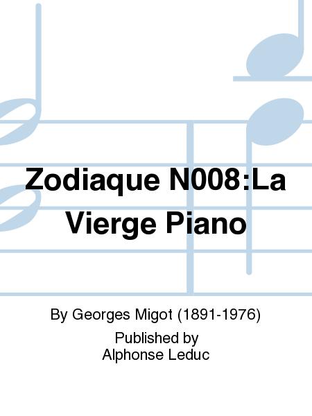 Zodiaque No.8:La Vierge Piano