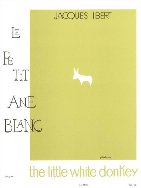 Histoires No.2 Le Petit Ane Blanc Flute et Piano