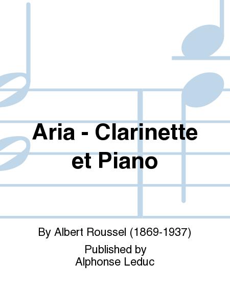 Aria - Clarinette et Piano