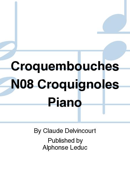 Croquembouches No.8 Croquignoles Piano