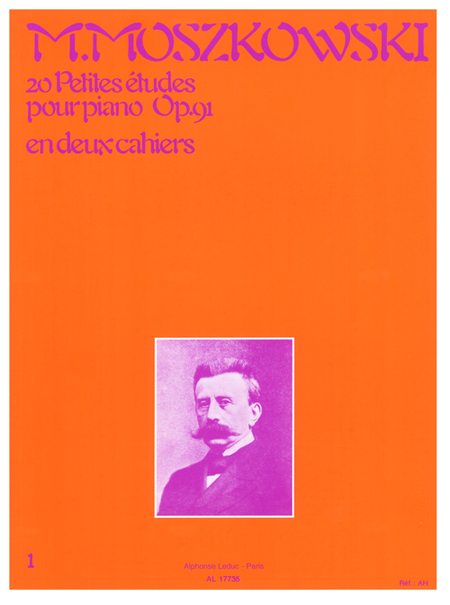 20 Petites Etudes Op91 Volume 1 - Piano