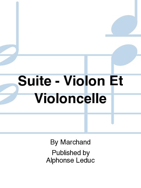 Suite - Violon Et Violoncelle