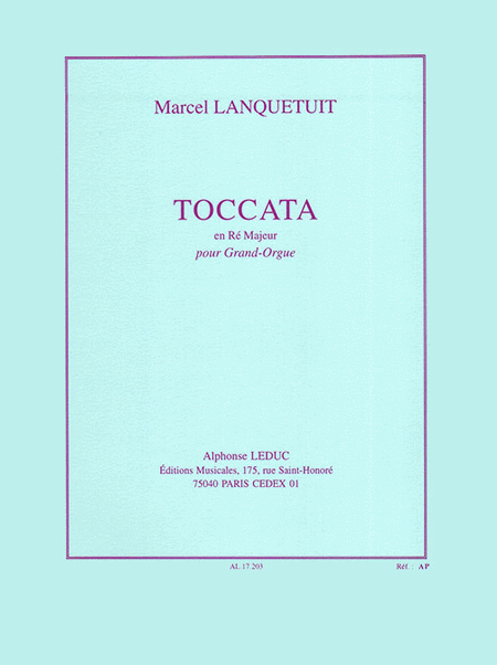 Toccata en Re Majeur - Grand Orgue