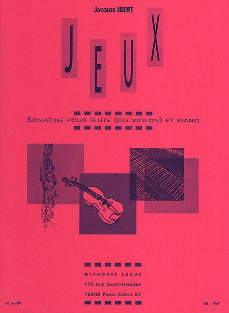 Jeux - Flute Ou Violon Et Piano