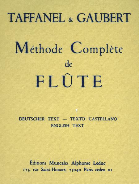 Methode de Flute - Complete (Francais/Anglais/Allemand/Espagnol)