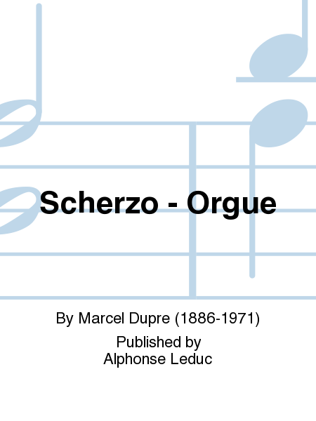 Scherzo - Orgue