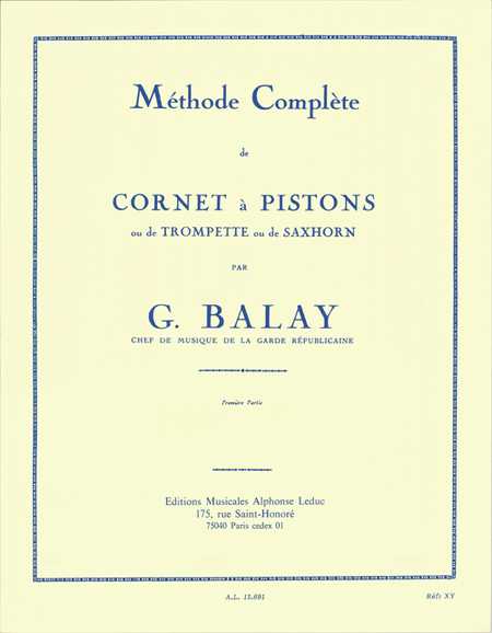 Methode - Cornet a Pistons Volume 1