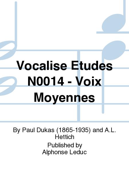 Vocalise Etudes No.14 - Voix Moyennes