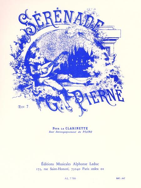 Serenade Op7 - Clarinette et Piano