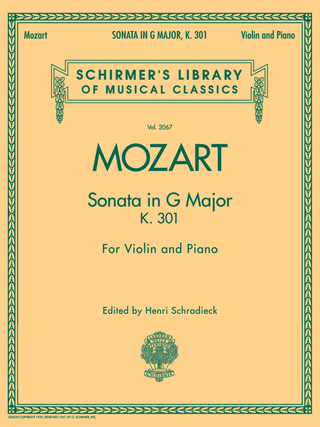 Sonata in G Major, K301