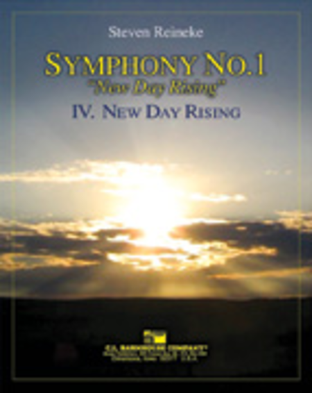 New Day Rising (Symphony 1, New Day Rising, Mvt. IV)