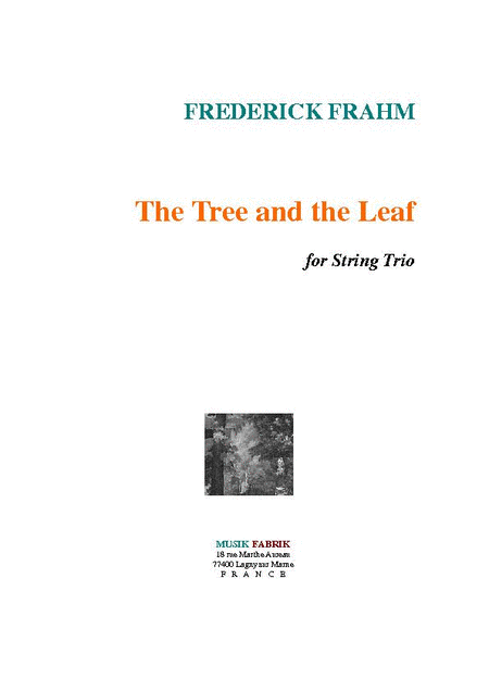 The Tree and the Leaf