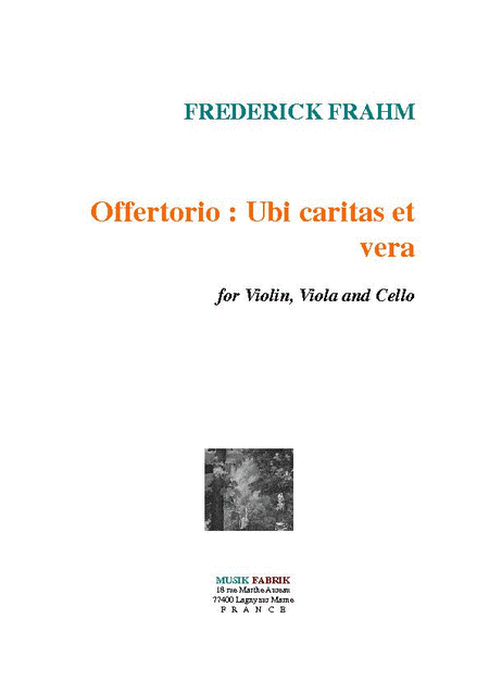 Offertorio: Ubi caritas et vera