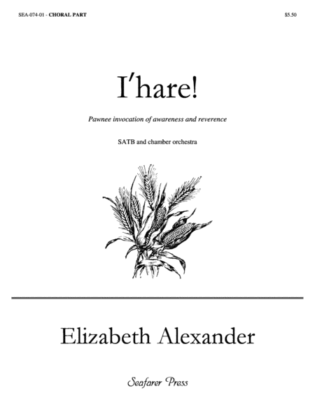 I'hare (choral score)