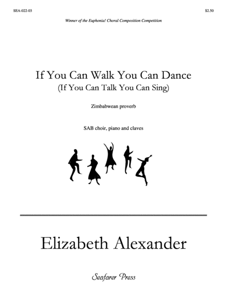 If You Can Walk You Can Dance (SAB)