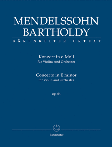 Concerto for Violin and Orchestra e minor, Op. 64