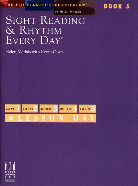 Sight Reading & Rhythm Every Day!, Book 5