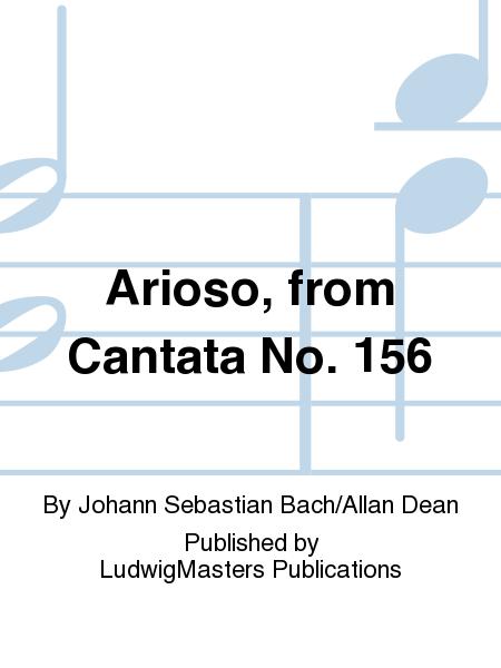 Arioso, from Cantata No. 156