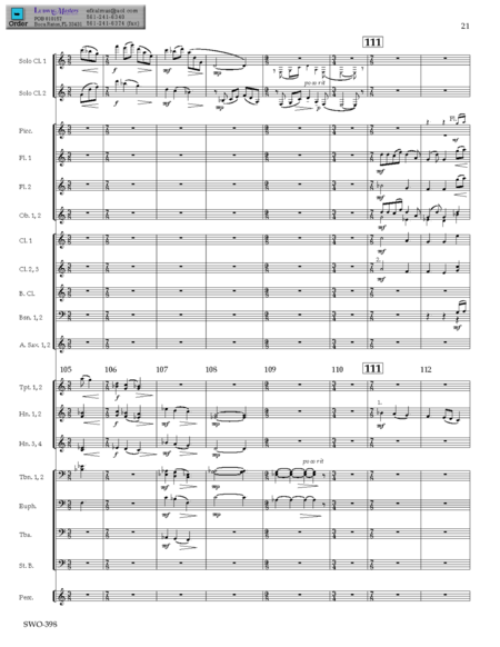 Fantasy for Two Clarinets