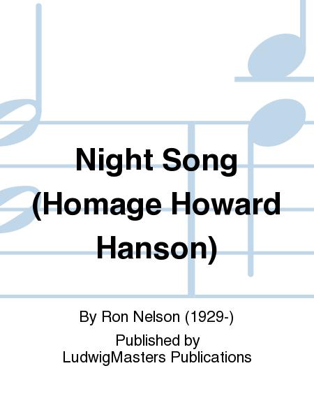 Night Song (Homage Howard Hanson)