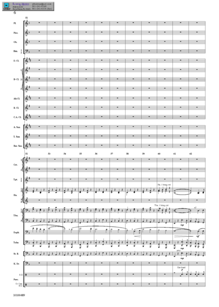 Second Suite in F for Military Band