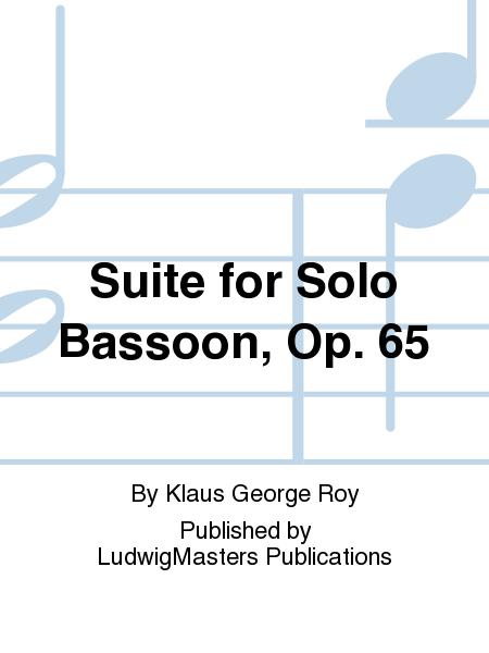Suite for Solo Bassoon, Op. 65