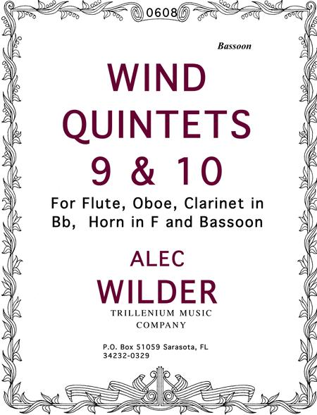Wind Quintets 9 & 10
