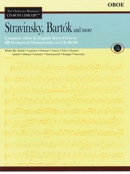 Stravinsky, Bartok, and More - Volume VIII (Oboe)