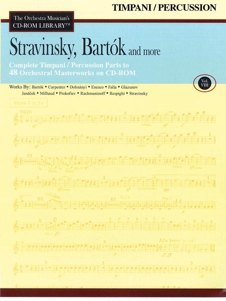 Stravinsky, Bartok, and More - Volume VIII (Timpani)