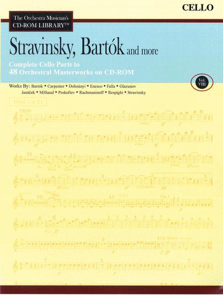 Stravinsky, Bartok, and More - Volume VIII (Cello)