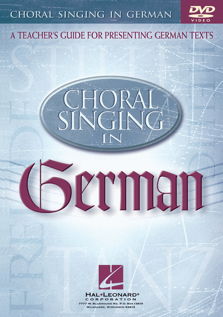 Choral Singing in German